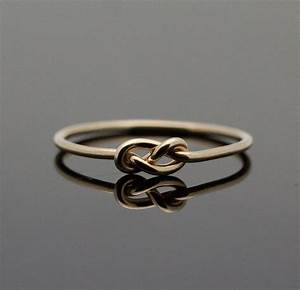 gold infinity ring solid 14k gold knot ring by With the knot wedding ring