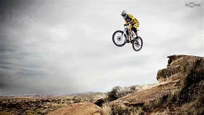 Downhill Mountain Biking Sfondo
