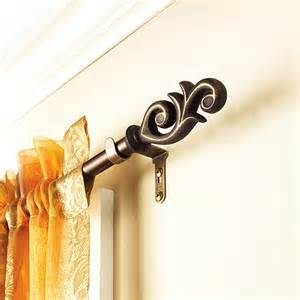curtain rods style types material and design