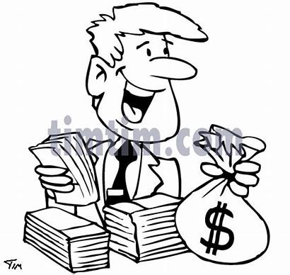 Drawing Money Drawings Business Cartoon Timtim Computers