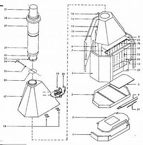 Kenmore Sears Fireplace Stove Parts