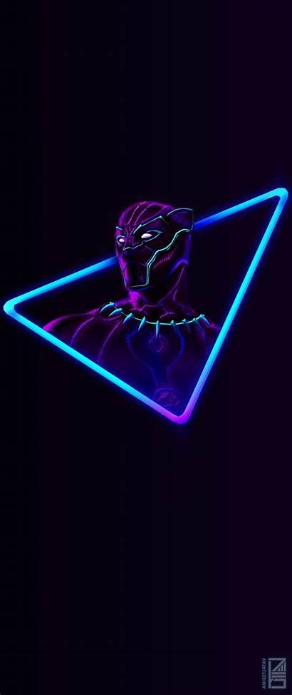 Neon Panther Wallpapers Phone Jatav Marvel Aniket