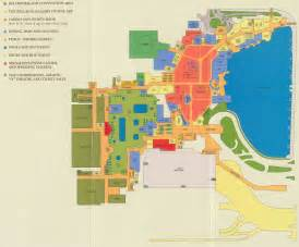 Mandalay Bay Arena Floor Plan by Bellagio Map Bellagio Hotel Map