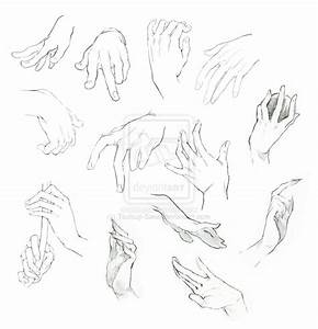 Anime Hands Reaching Out Drawings Sketch Coloring Page