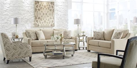 mauricio linen living room set  ashley