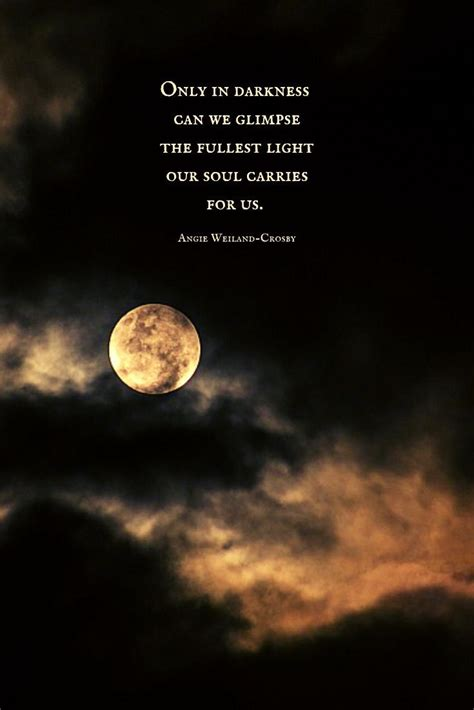 soulful quote  darkness   full moononly