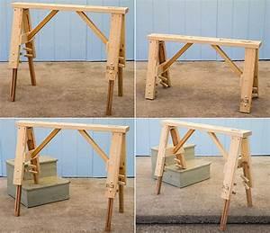 LEVEL-it® Portable & Adjustable Workbench & Sawhorse