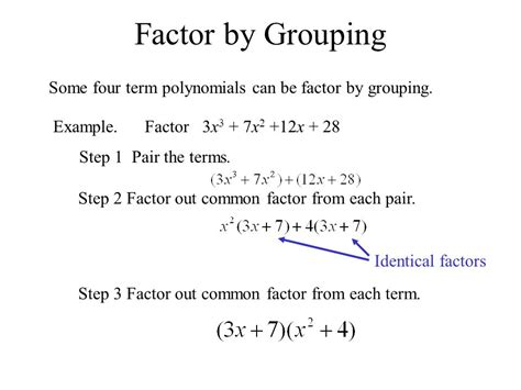 64 Factoring And Solving Polynomial Equations  Ppt Download