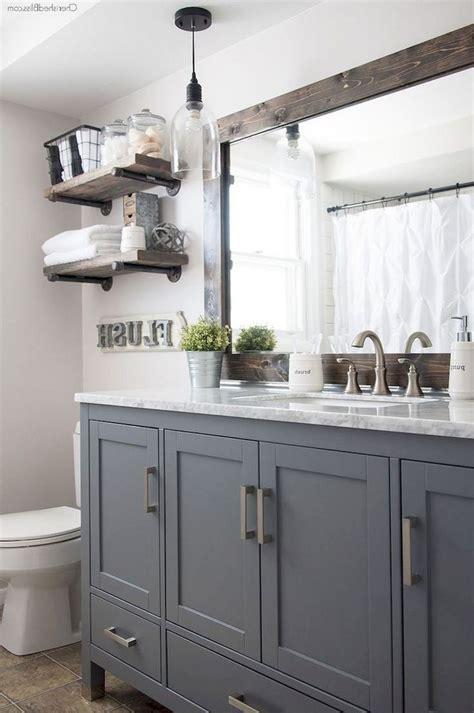Modern Farmhouse Bathroom Vanity Lighting by 70 Stunning L For Farmhouse Bathroom Lighting Ideas