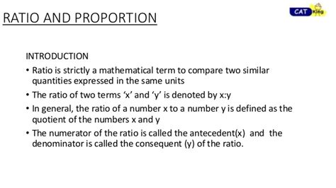 Ratio And Proportion For Cat, Cet, Snap, Nmat, Xat