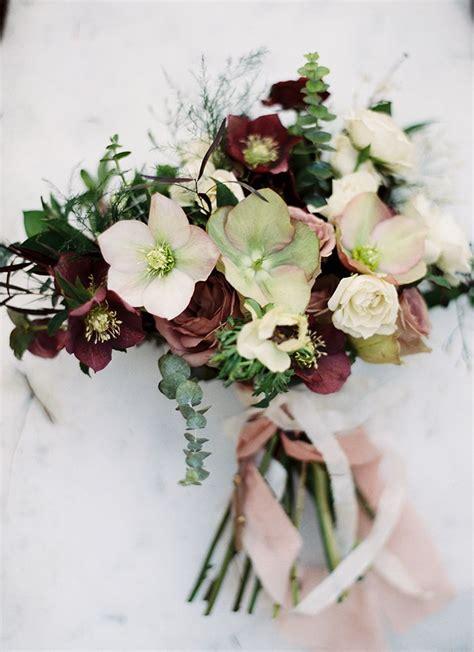 season winter wedding flowers