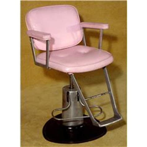 vintage salon chair pink x2