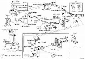 2008 Toyota Prius Tube  Brake Actuator  No  1  Brakes