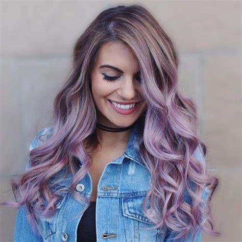 Best 25 Faded Purple Hair Ideas On Pinterest Ombre