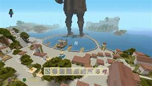 Greek Mythology Minecraft Map PS4 Walkthrough YouTube