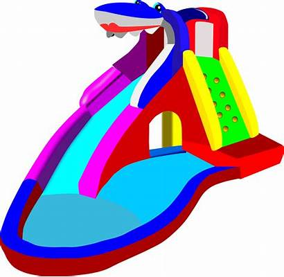 Slide Water Clipart Clip Waterslide Cliparts Clipartion