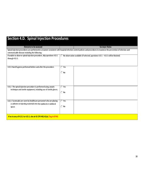 infection control risk assessment template