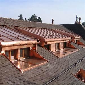 Lucarne De Toit : lucarne rampante rev tements modernes du toit ~ Melissatoandfro.com Idées de Décoration