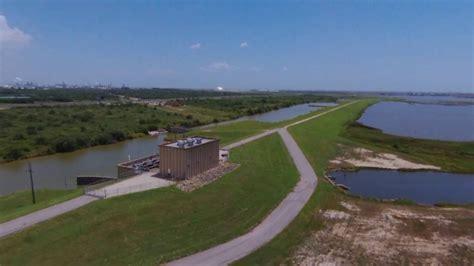 drone  walk   dike highland bayou park la marque texas youtube