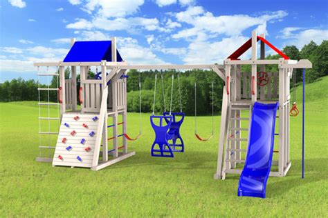 jeux exterieur pour enfants outdoor swing set the duplex 4x4 jeux modul air