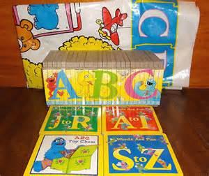 Sesame Street ABC Puzzle Board Books
