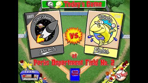backyard baseball 1997 let s play backyard baseball 1997 season 6