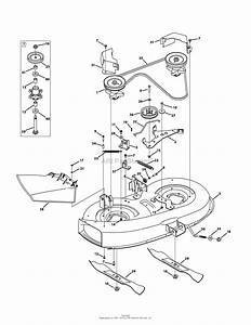 Mtd 13wc762f065  2011  Parts Diagram For Mower Deck 38