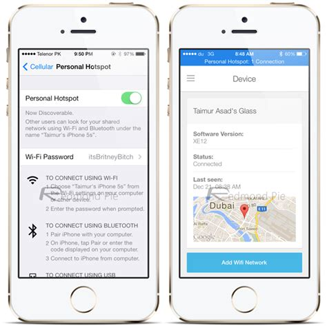 how to tether iphone tetherme for ios 7 enable free personal hotspot tethering