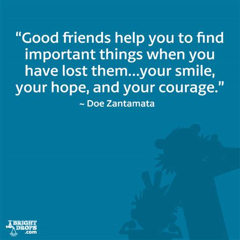 good friends support quotes quotesgram
