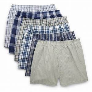 Fruit Of The Loom Men S Boxers 5 Pack Low Rise