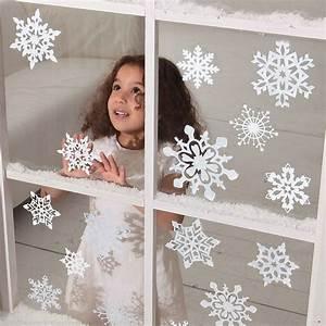 Fensterdeko Weihnachten Kinder : fensterdeko weihnachten schneeflocke fensteraufkleber fensterbild 14 teilig in m bel wohnen ~ Yasmunasinghe.com Haus und Dekorationen