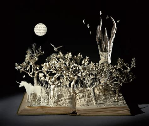 magical world  book sculptor su blackwell objects