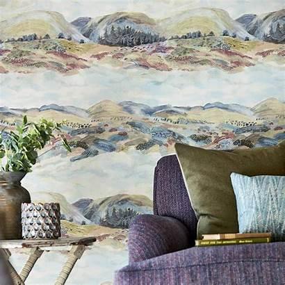 Sanderson Elysian Wallpapers Geese Paper Fig Browser