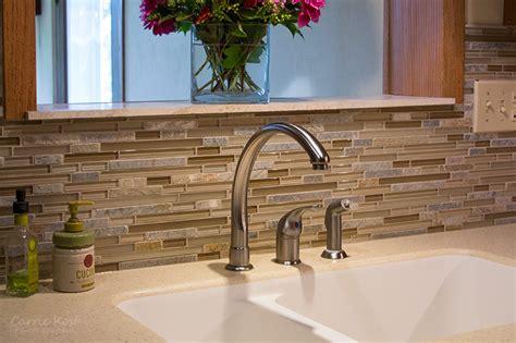 Glass Mosaic Tile Backsplash  Precision Floors & Decor