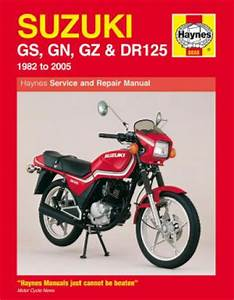 Suzuki Gs125 Gn125 Gz125 Dr125 1982