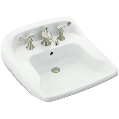 kohler reve wall mount sink kohler reve wall mount ceramic bathroom sink in whites