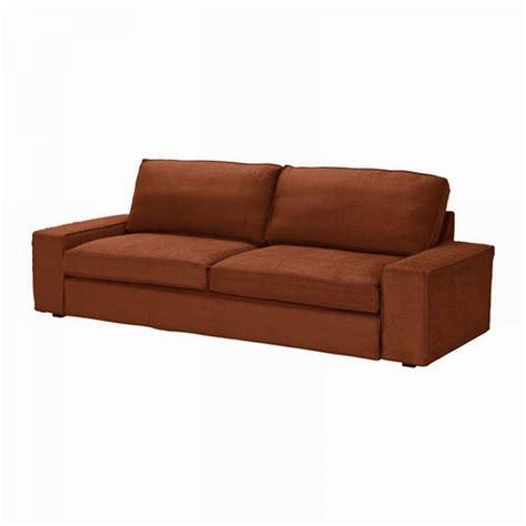 Ikea Kivik Sofa Bed Slipcover Cover Tullinge Rust Brown