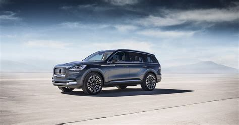 lincoln aviator preview motor illustrated