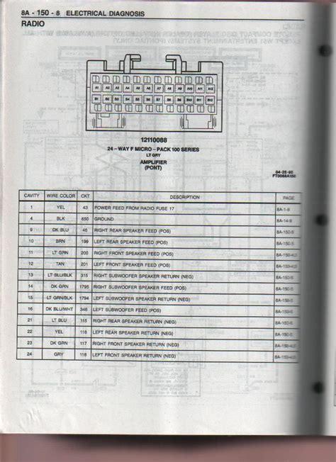 1996 10 speaker pontiac system pre monsoon aftermarket 5 channel lifier ls1tech