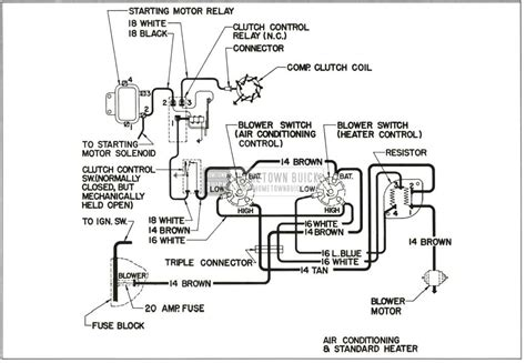 Schematic Diagram For Air Conditioning System