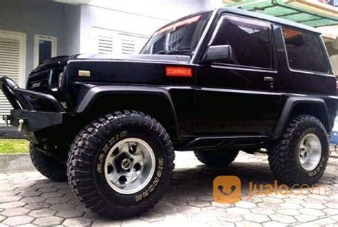 daihatsu taft gt 4x4 diesel 1993 hitam solid gagah kab cilacap jualo