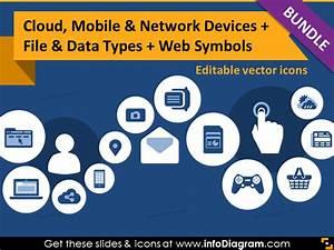 It Icons Bundle Cloud Mobile Devices Media Website Ppt Clipart
