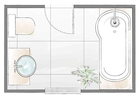 Bathroom layout plans ? for small and large rooms