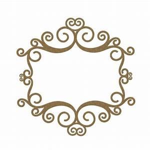 Rectangle Flourish Frame 3
