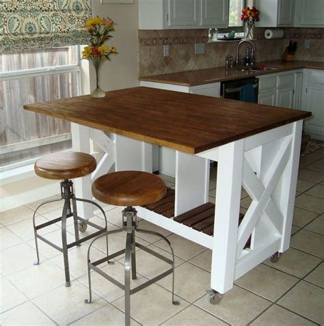 kitchen island as table diy small kitchen table gl kitchen design 4976