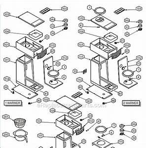 Cuisinart Coffee Maker Parts Diagram