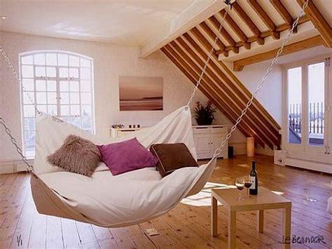 Hanging Chair Indoor Diy by Home Accessories How To Make Diy Le Beanock Indoor