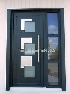 porte d entree avec fenetre urbantrottcom With porte d entrée pvc avec fenetre standard