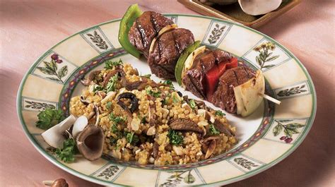cuisiner boulgour pilaf de boulgour aux chignons recettes iga accompagnement noisettes recette facile