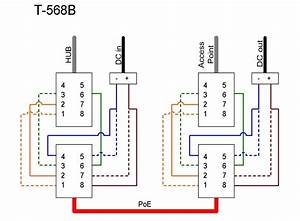 Cat5 Wiring Diagram Intended For Poe Cat5 Wiring Diagram